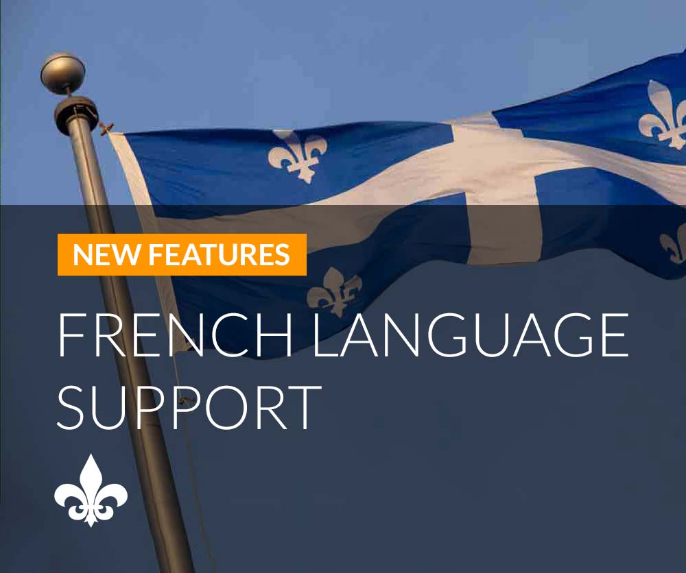 French Language Support announcement