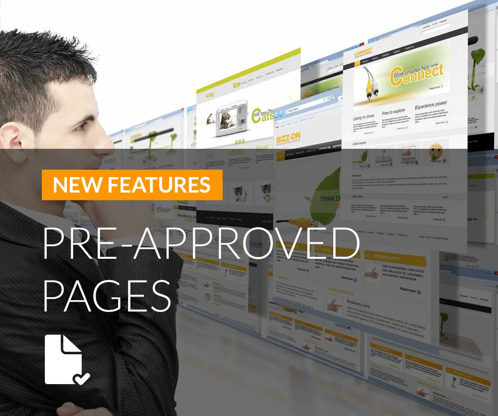 New Digital Agent Pre-Approved Pages Feature