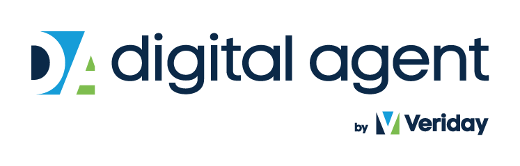 Digital Agent by Veriday Logo