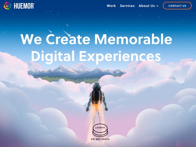 CTA Example using Huemor website