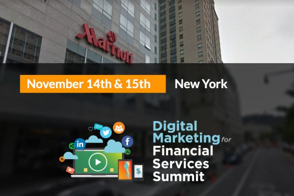 Digital Marketing for FInancial Services Summit: New York